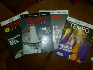 Tempo Magazine is Indonesia's muckraker par excellence.