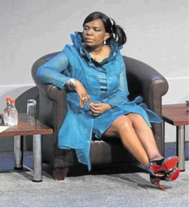 Those red shoes proved to be a South African minister's undoing.